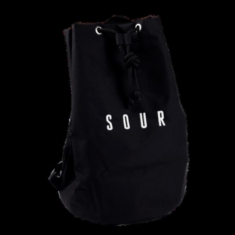 SOUR SOLUTION PAT DUFFLE BAG-BLACK