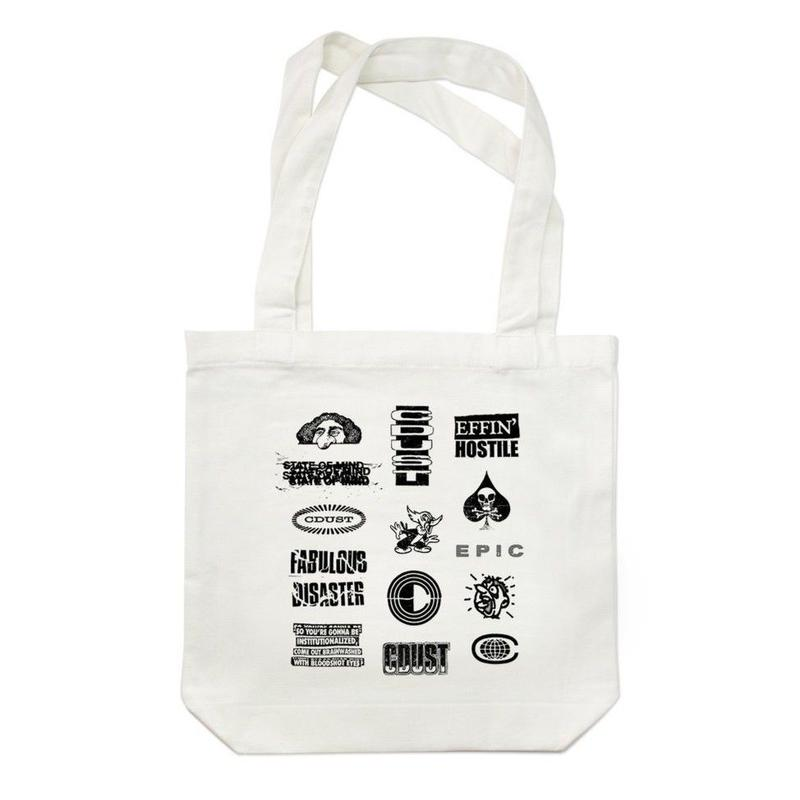 COMMON DUST STATE OF MIND TOTE   WHITE