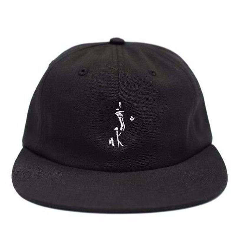 BORNxRAISED SNOOTY FOX STRAPBACK  BLACK