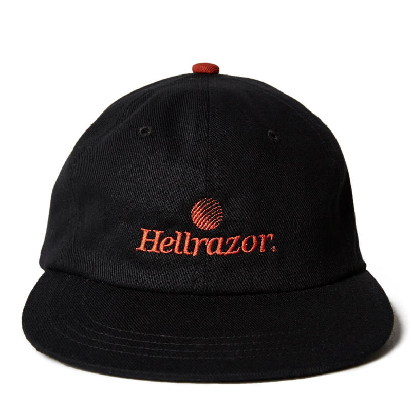 HELLRAZOR TRADEMARK LOGO 6PANEL-BLACK