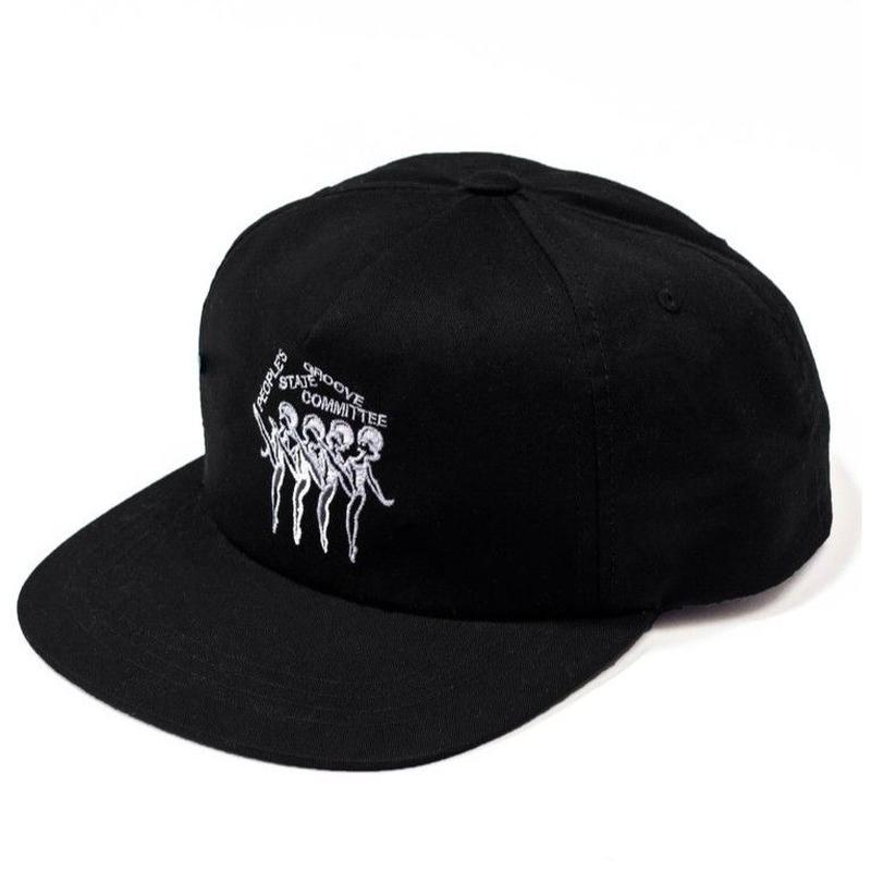 STATE NYC RADIO -CAP-BLACK