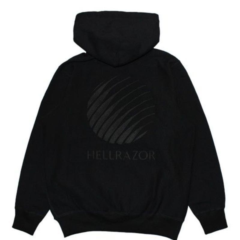 HELLRAZOR EMB LOGO PULLOVER-BLACK