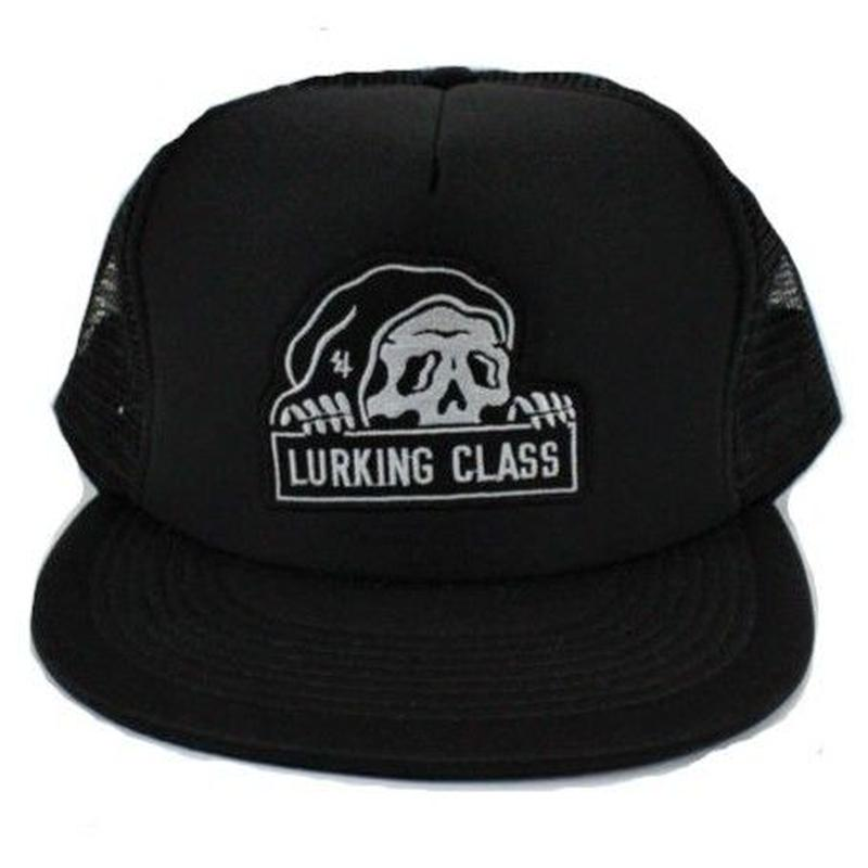 LURKING CLASS MESH SNAP BACK  BLACK