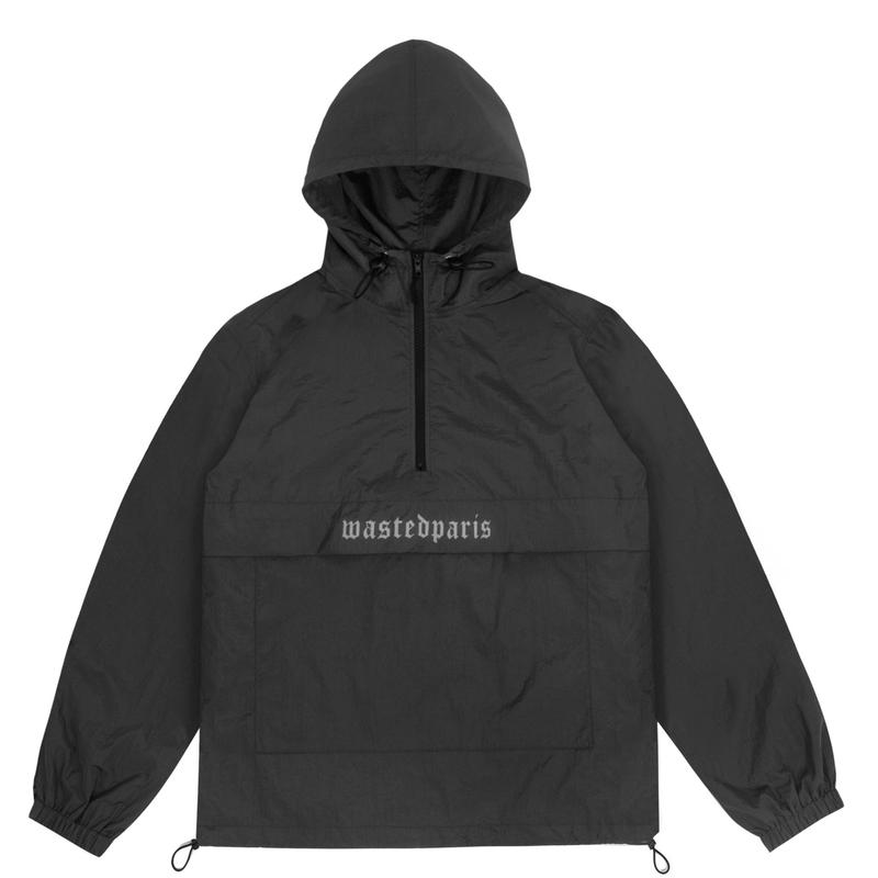 WASTED PARIS OX4 WINDBREAKER OX4   BLACK
