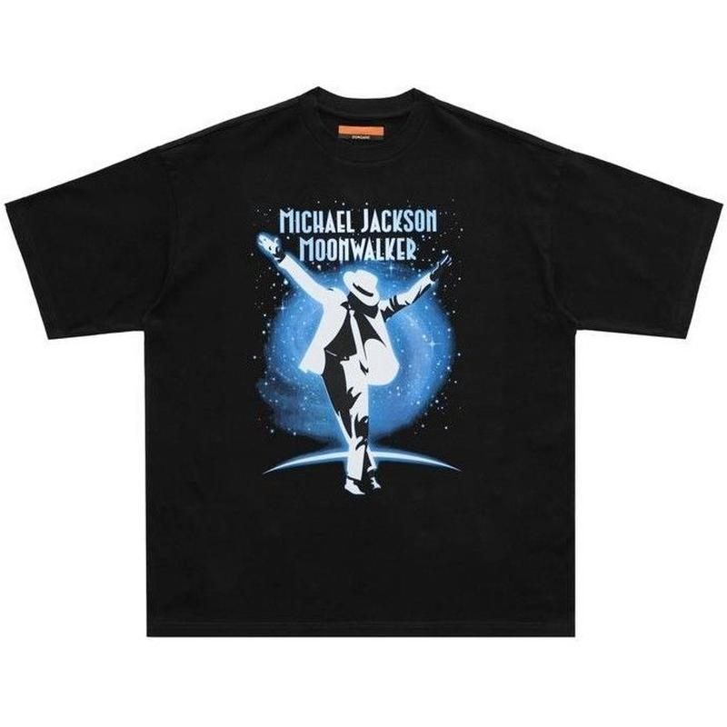 DONCARE MOON WARKER TEE-BLACK