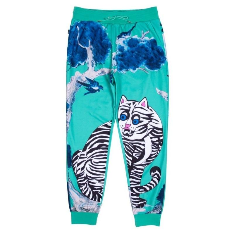 RIPNDIP WILD NERM SWEATPANTS-MINT