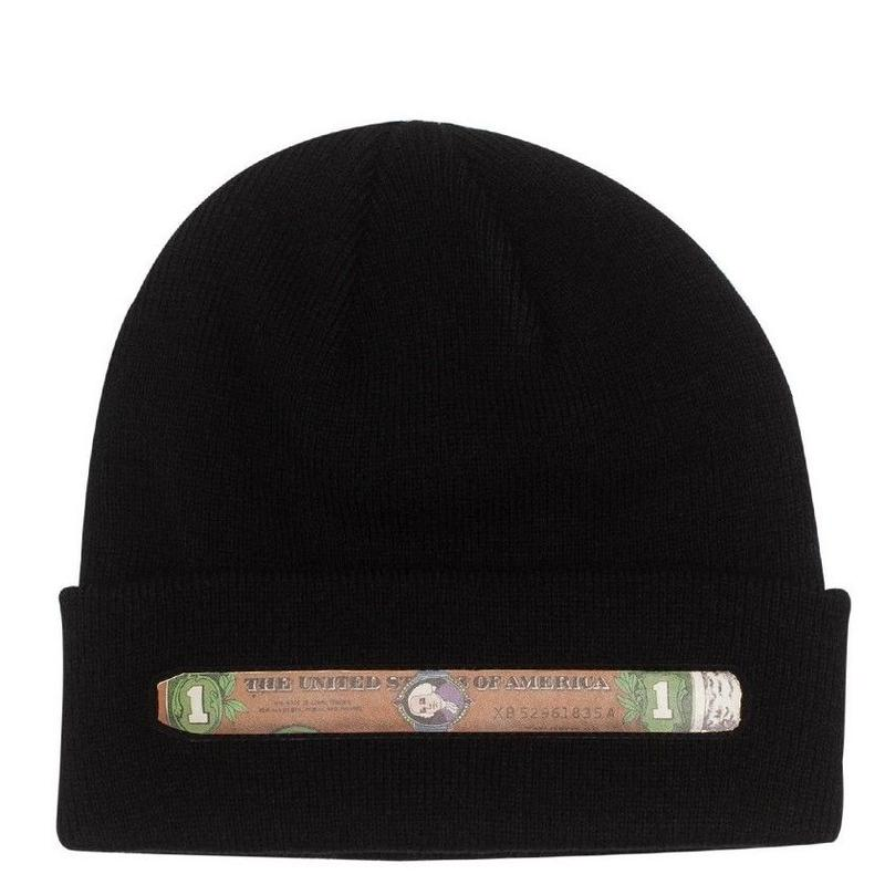 FUCKING AWESOME BLUNT BEANIE -BLACK
