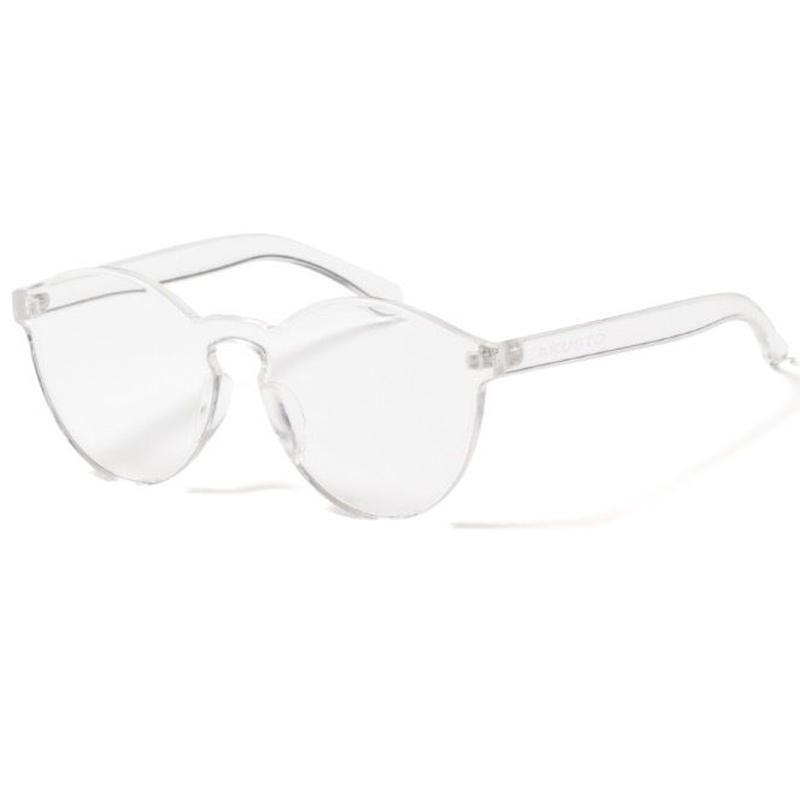【APPLEBUM】Rimless Acrylic Sunglass [Clear]
