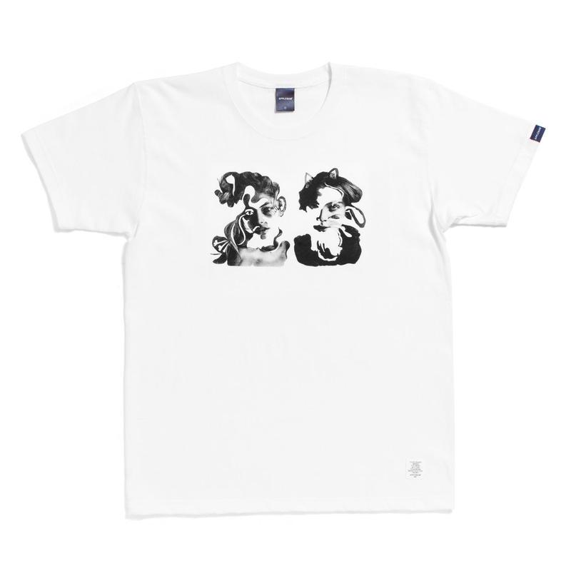 "【APPLEBUM】""23 Pussy Cat"" T-shirt"