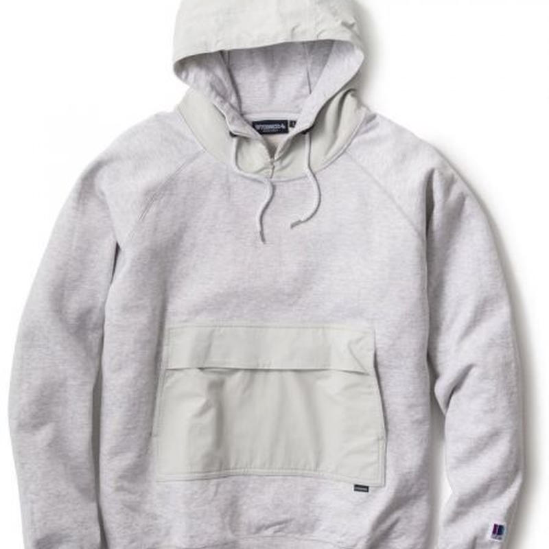 【INTERBREED】ASH SWEAT TECH HOODIE