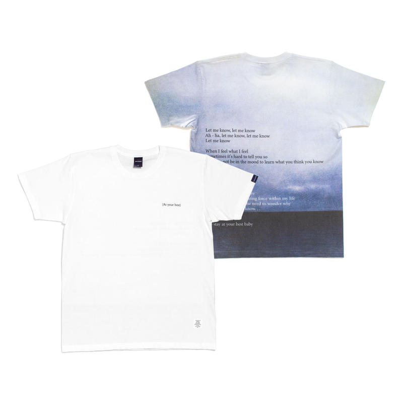 "【APPLEBUM】""At Your Best"" T-shirt"