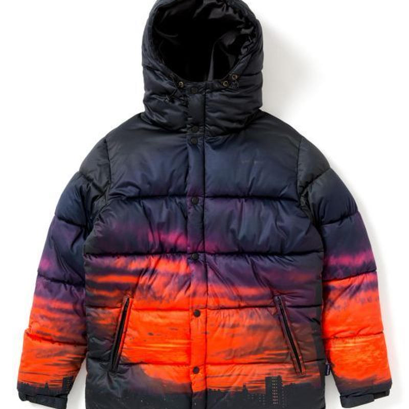 "【APPLEBUM】 ""Sunset City"" Inner Cotton Jacket"