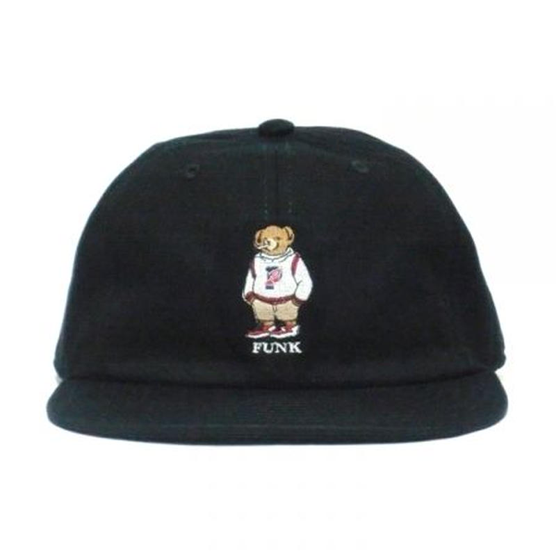 【INTERBREED】P WING BEAR EMBROIDERED BALL CAP(BLACK)