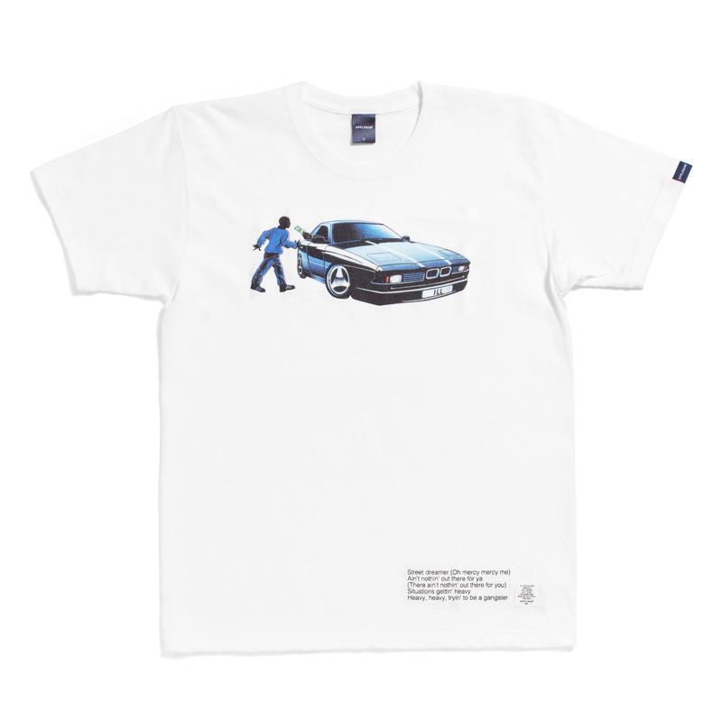 "【APPLEBUM】""Street Dreams"" T-shirt [White]"