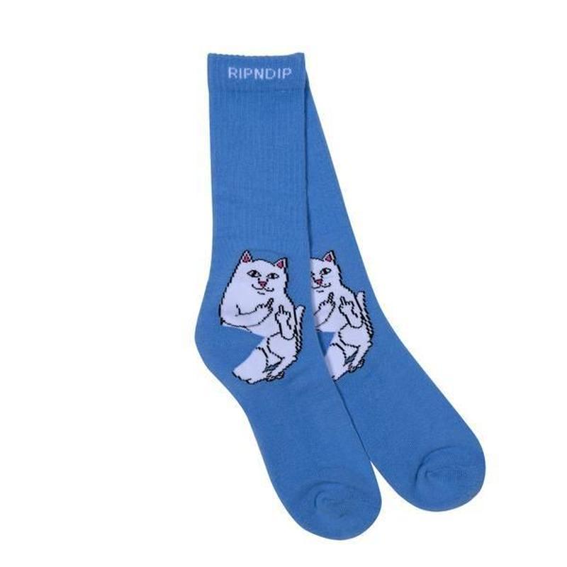 【RIPNDIP】LORD NERMAL SOCKS (BABY BLUE)
