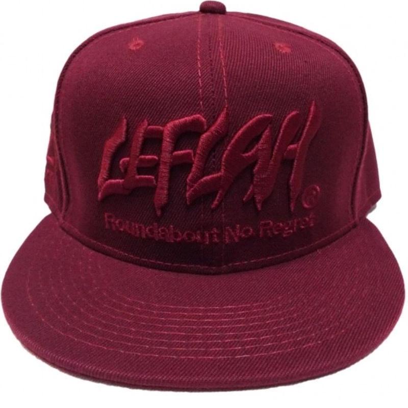 【LEFLAH】【2016AW】LEFLAH LOGO CAP(BUR)