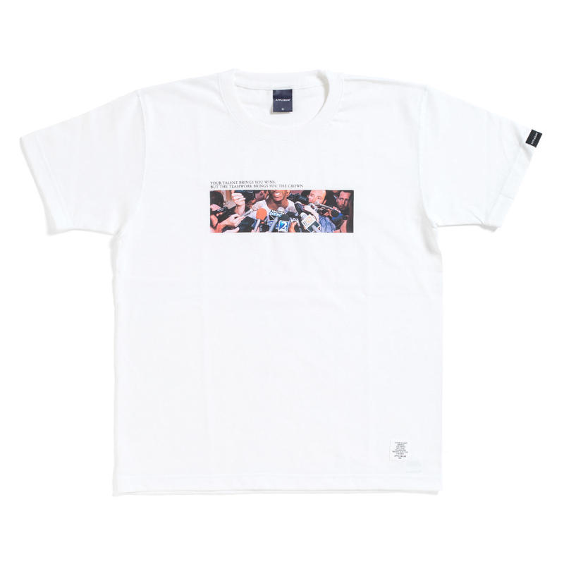 "【APPLEBUM】""Supa Star"" T-shirt [White]"