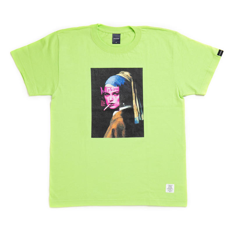 "【APPLEBUM】""Masterpiece"" T-shirt [Lime]"