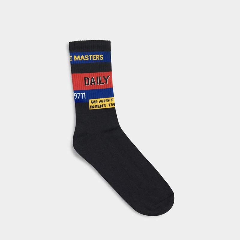 【dailypaper】Black Fad sox