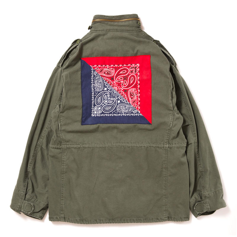 【APPLEBUM】Bandanna Vintage M-65 Jacket