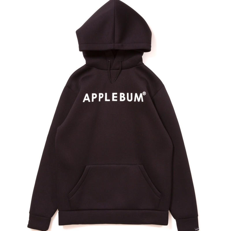 【APPLEBUM】Logo Bonding Parka [Black]