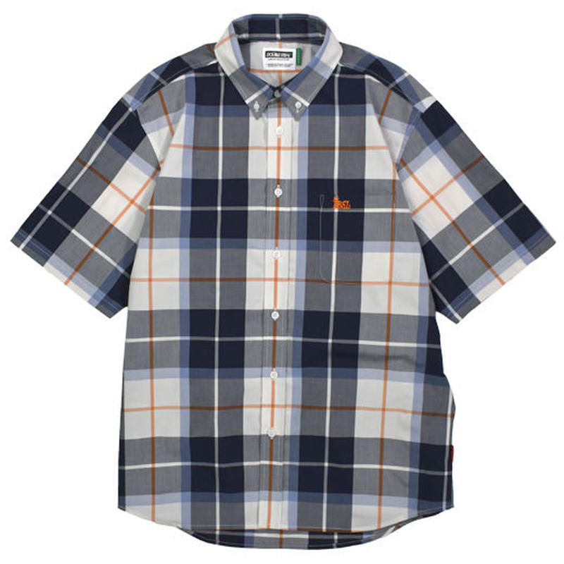 【Double Steal】BIG Check B.D Shirt