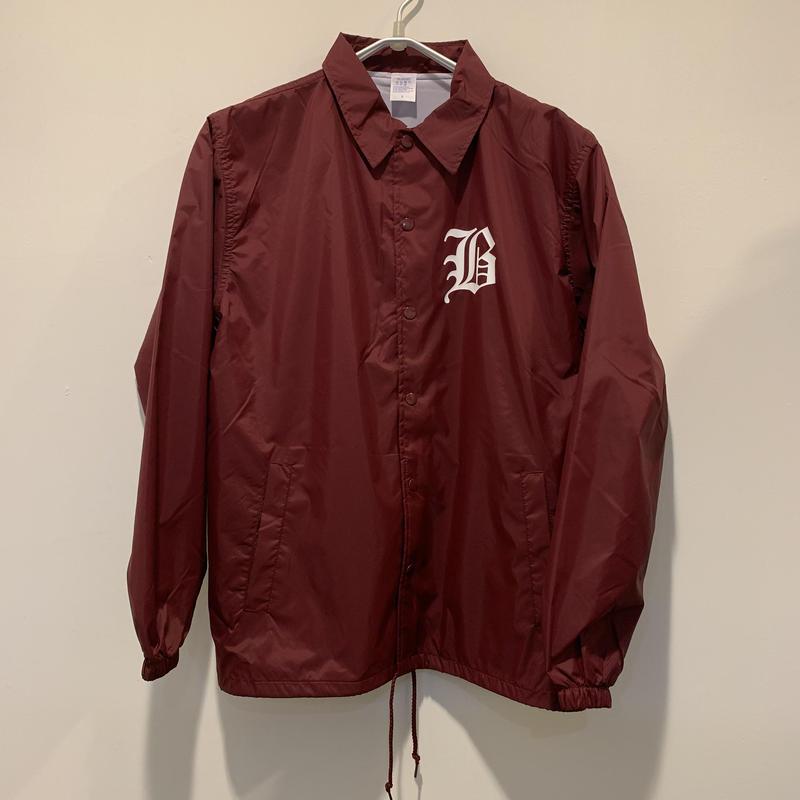 【bubblegum】nylon coach jacket