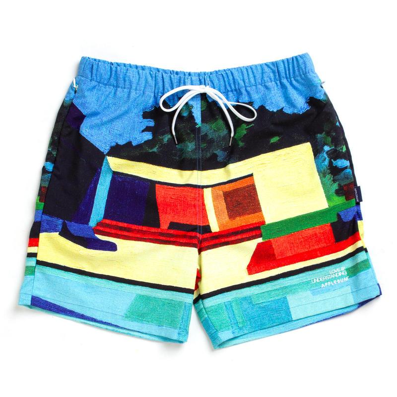"【APPLEBUM】""Kidney Pool"" Board Shorts"