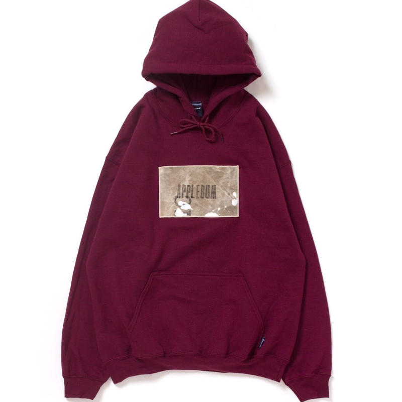 【APPLEBUM】PLAY for APPLEBUM Vintage Militery Bag Sweat Parka [Burgundy]