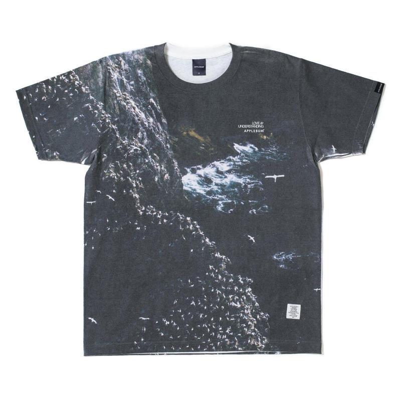 "【APPLEBUM】""North"" T-shirt"