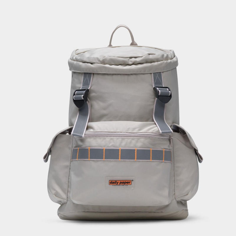 【dailypaper】Beige Utility Backpack