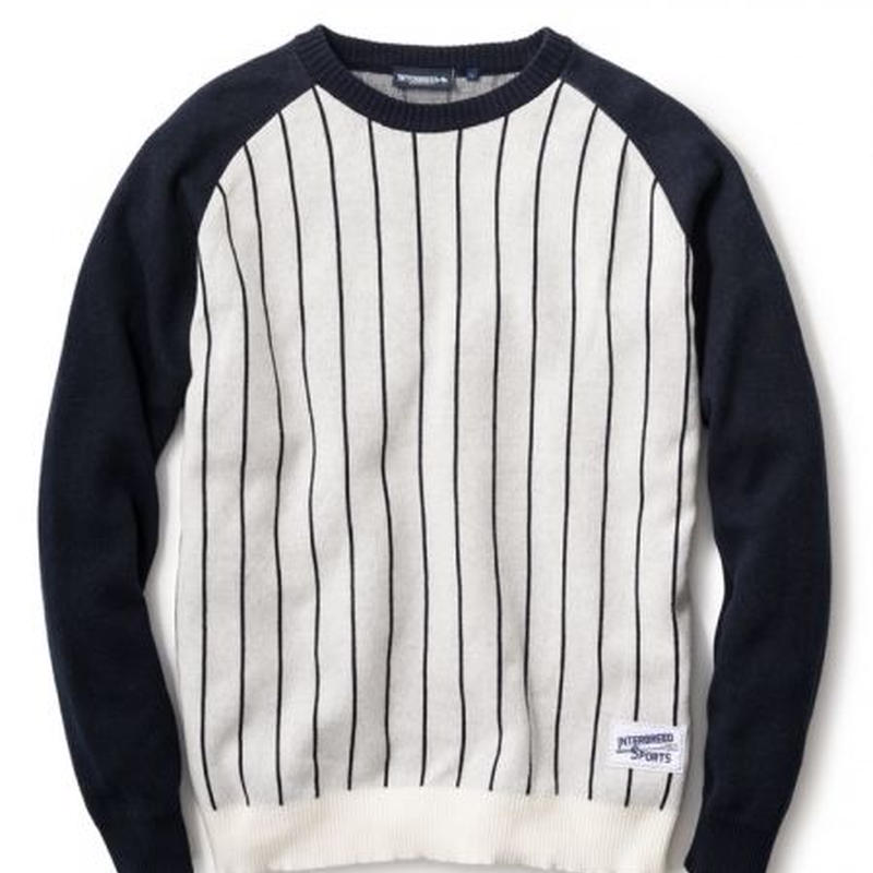 【INTERBREED】STADIUM KNIT(GREY)
