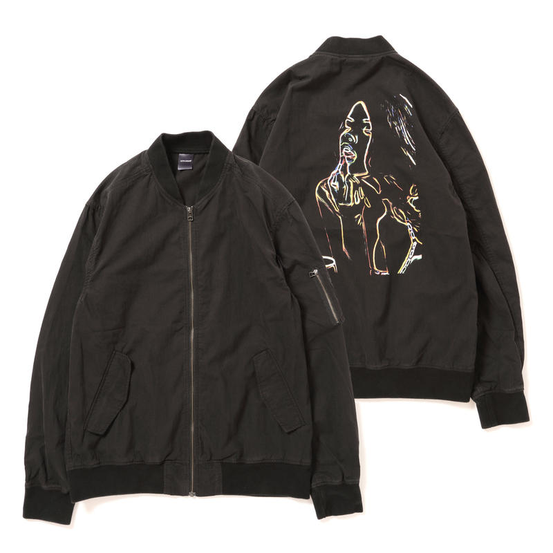 "【APPLEBUM】""Neon Girl"" Vintae Light MA-1 Jacket"