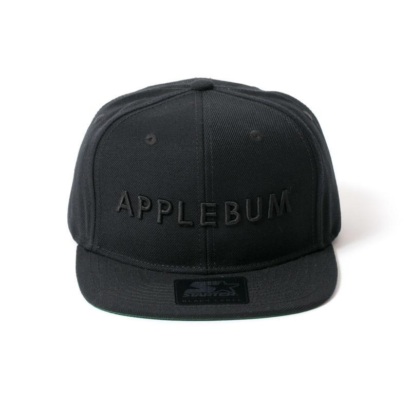 【APPLEBUM】Baseball Cap (Starter Body) [Black]