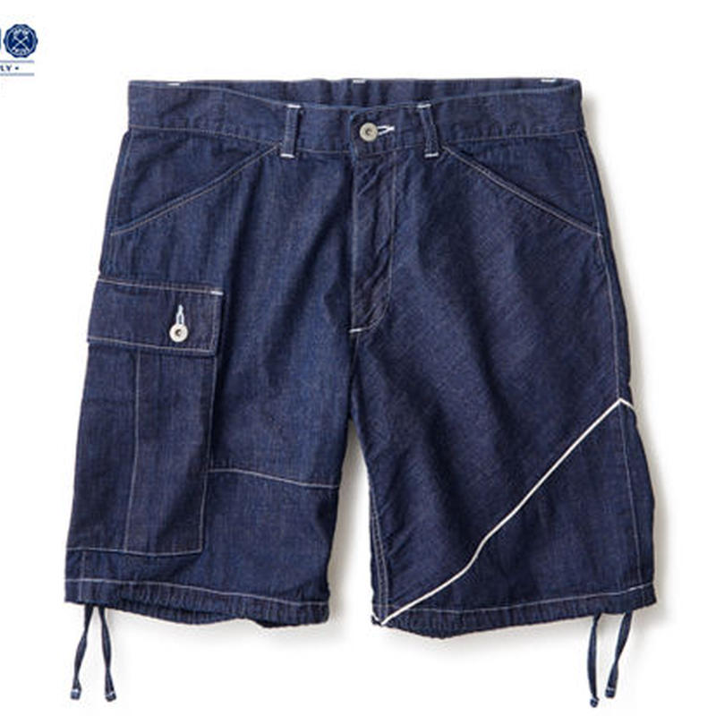 "【INTERBREED】SELVEDGE SUPPLY ""ONE SIDE SELVEDGE CARGO SHORTS"""