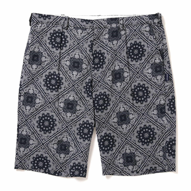 【APPLEBUM】Paisley Big Silhouette Short Pants