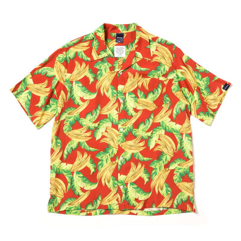 """【APPLEBUM】""""Banana"""" Aloha Shirt [Red]"""