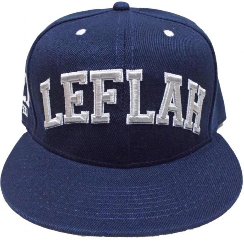 【LEFLAH】【2016AW】ARCH LOGO CAP(NVY)