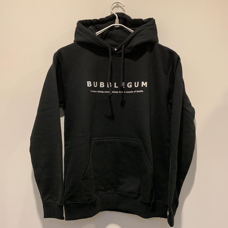 【bubblegum】Message Logo Parka