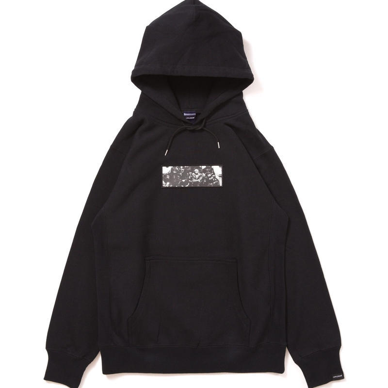 【APPLEBUM】Harlem Sweat Parka [Black]
