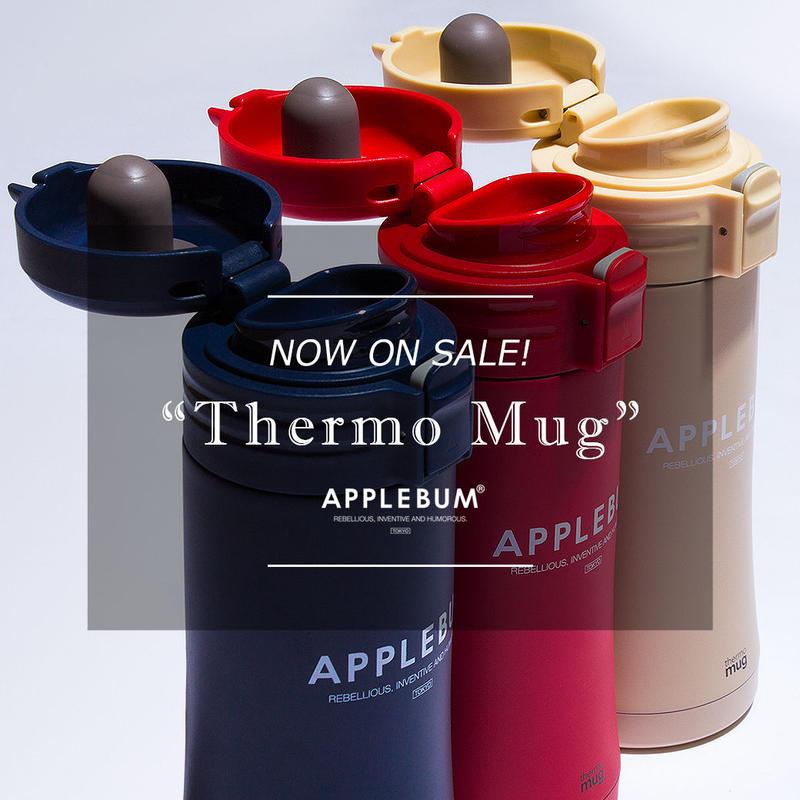 【APPLEBUM】Thermo Mug Smart Onetouch Bottle