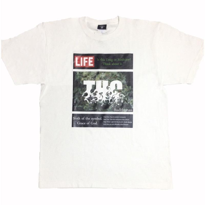 """LIFE/THC""tee (WHT)"