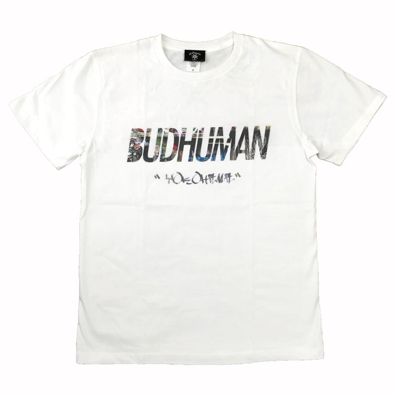 "BUDHUMAN  ""Graffiti""  tee (WHT)"