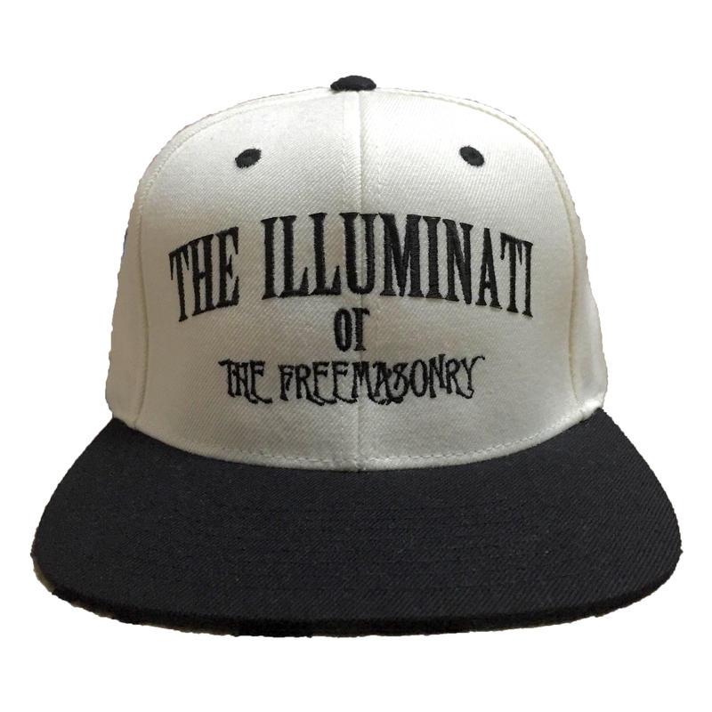 "SNAPBACK CAP ""ILLUMINATI"" (WHT×BLK)"