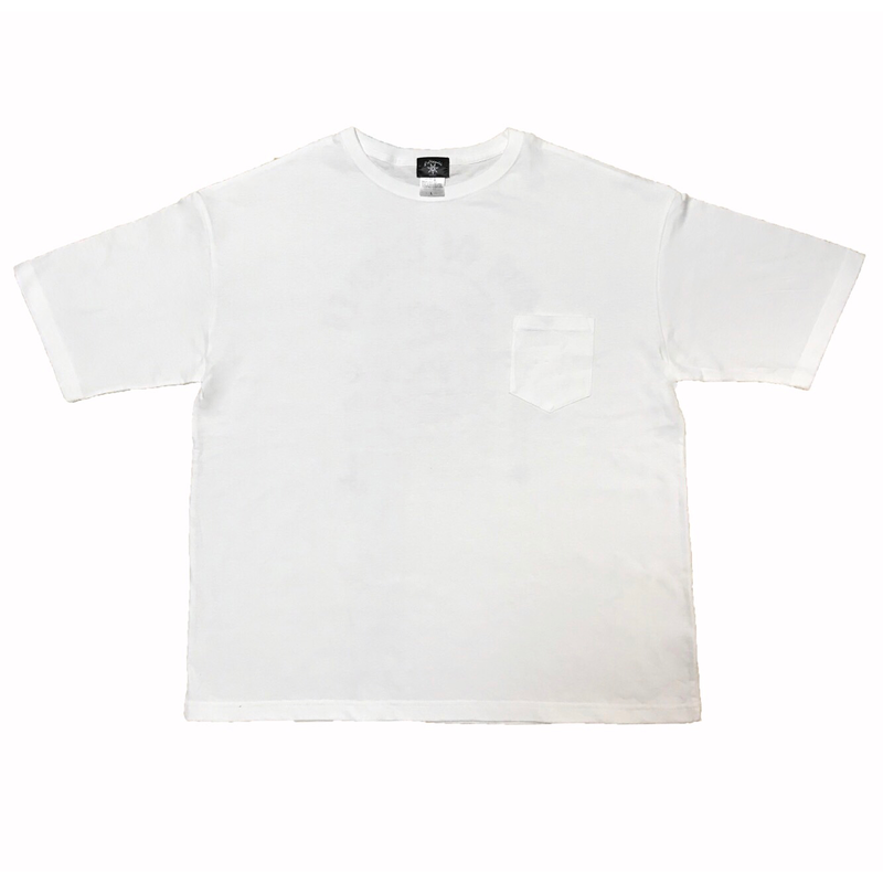 """SONS OF LIBERTY"" Big Silhouette  tee (WHT)"