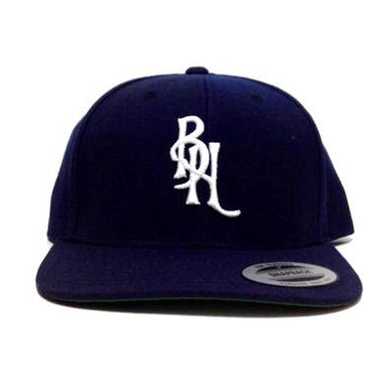 "SNAPBACK CAP ""BH logo"" (NAVY×WHT)"