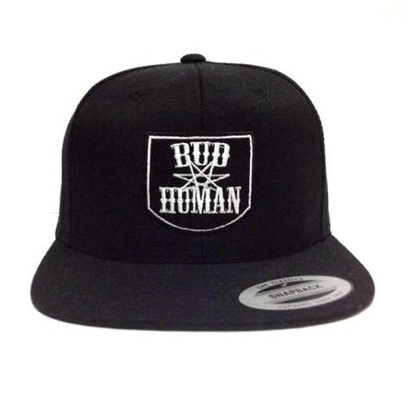"""SNAPBACK CAP """"Emblem"""" (BLK×WHT)"""