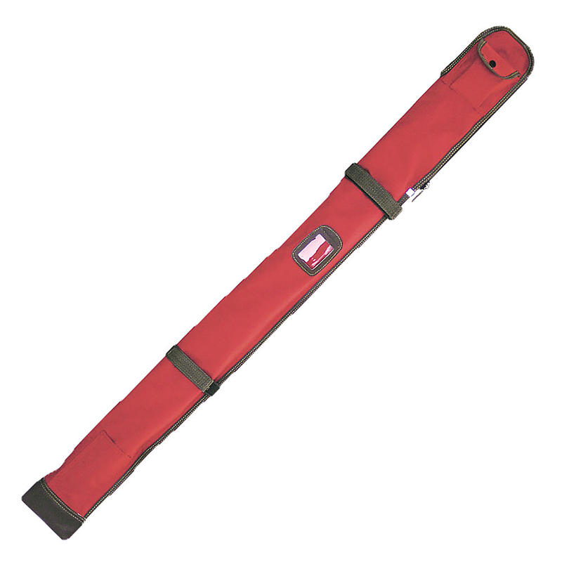 ナイロン略式チャック式木刀入付竹刀袋 赤色