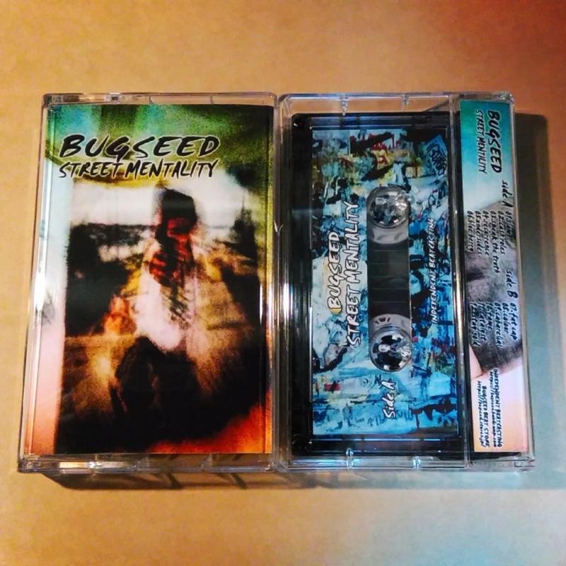 Bugseed - Street Mentality (Cassette Tape)