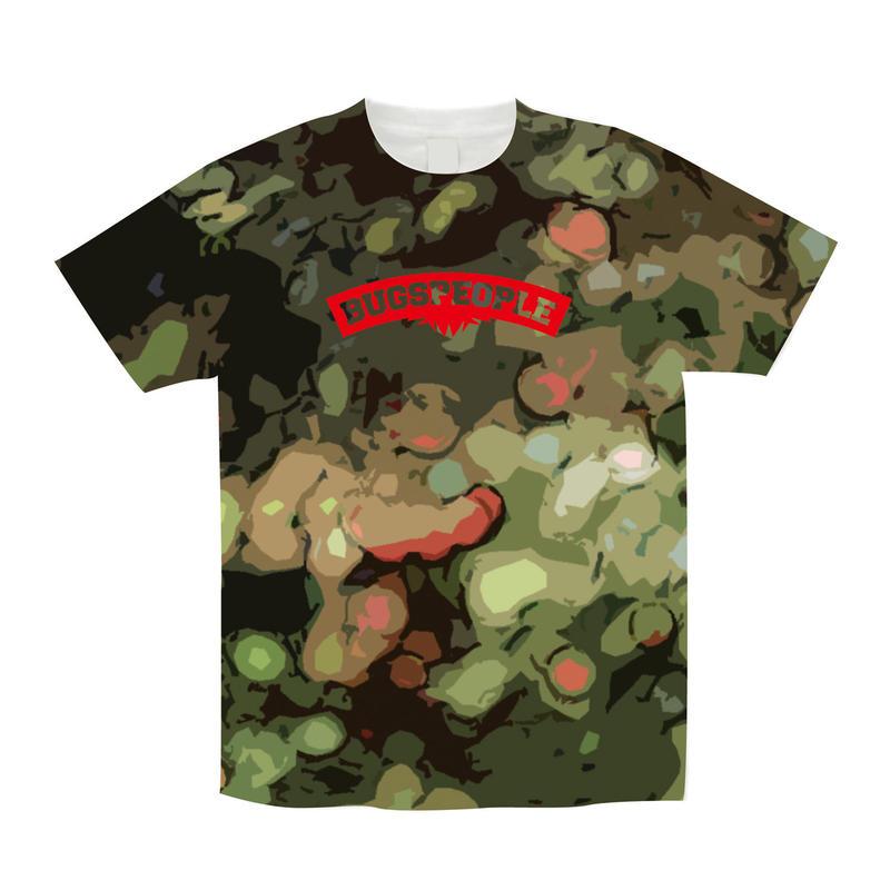 Green総柄Tシャツ